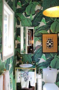 decoração para o lavabo